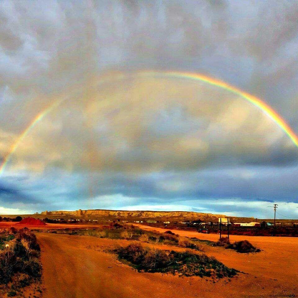 Beautiful rainbow in Nothern Arizona