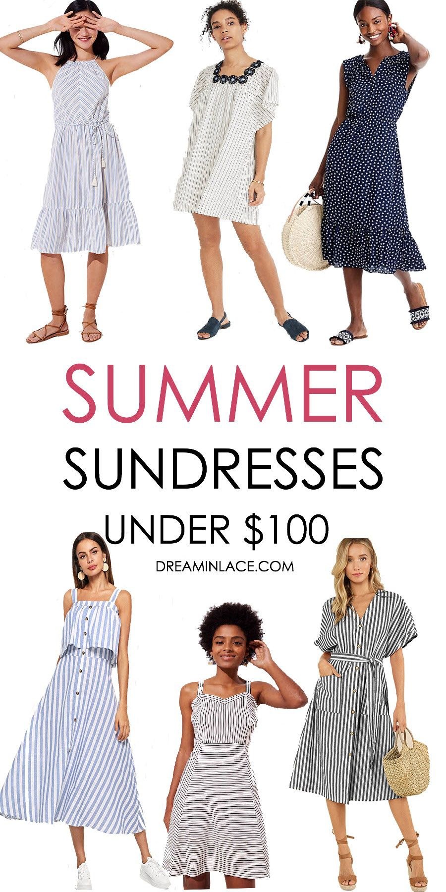 437caa00fa1 Summer Sundresses Under  100 I DreaminLace.com  SummerStyle  Fashionista   Style