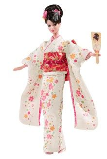 raccolta-barbie-                                                     Japan Barbie Dolls of the World - View Collectible Dolls From The Dolls Of The World Collection   Barbie Collector