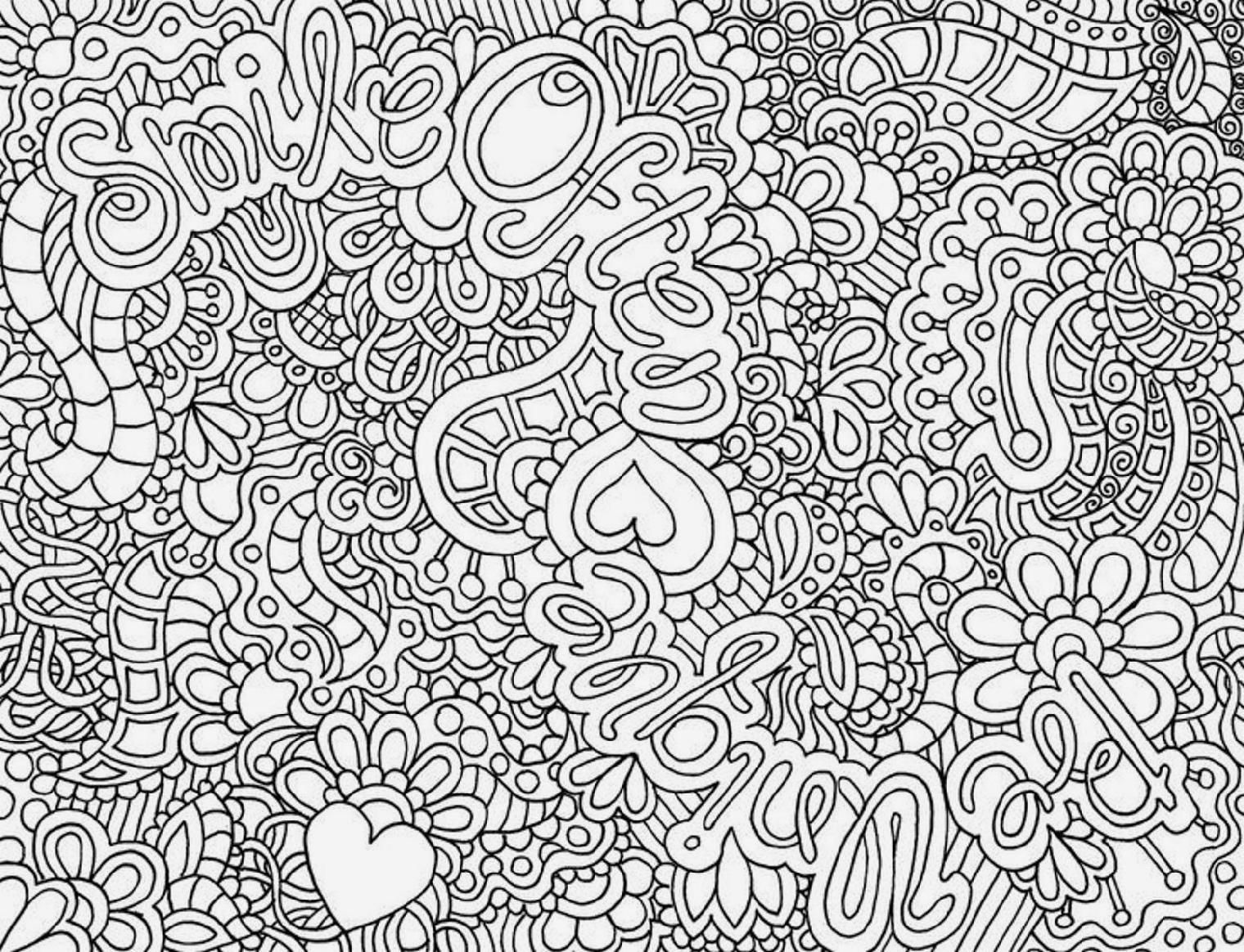 Free coloring pages for adults abstract - These Free Printable Coloring Book Pages Of Flowers Provide Hours Of Online And