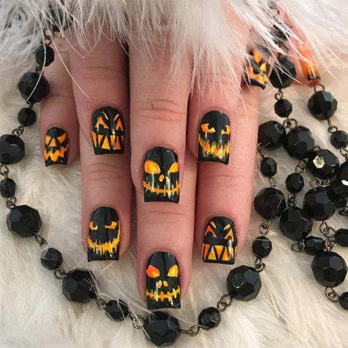 Stylish Halloween Nails That Will Blow Your Mind (With ...