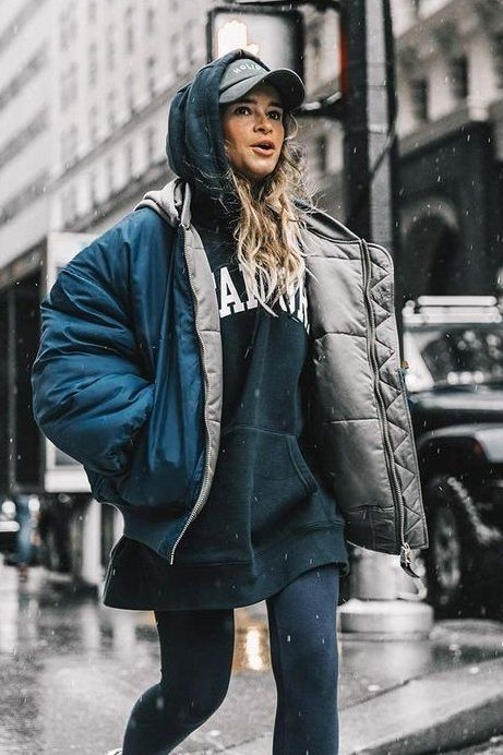 Practical Puffers.. Whether you're snow-bound this winter or simply angling for a street-style-worth...