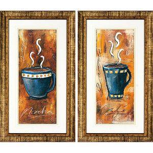 Java II Framed Art, Set Of 2