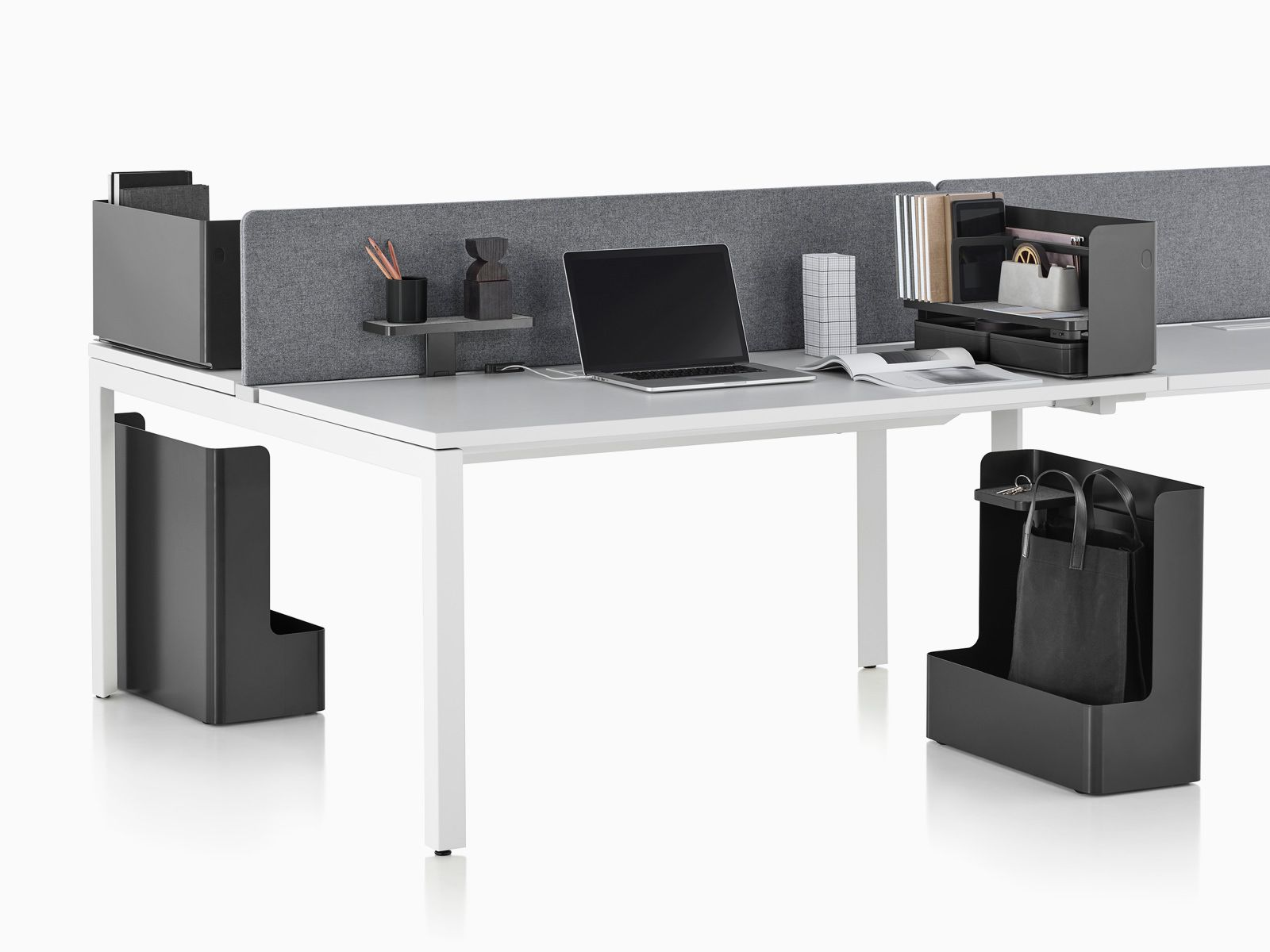 Ubi is a collection of desk accessories that enable people