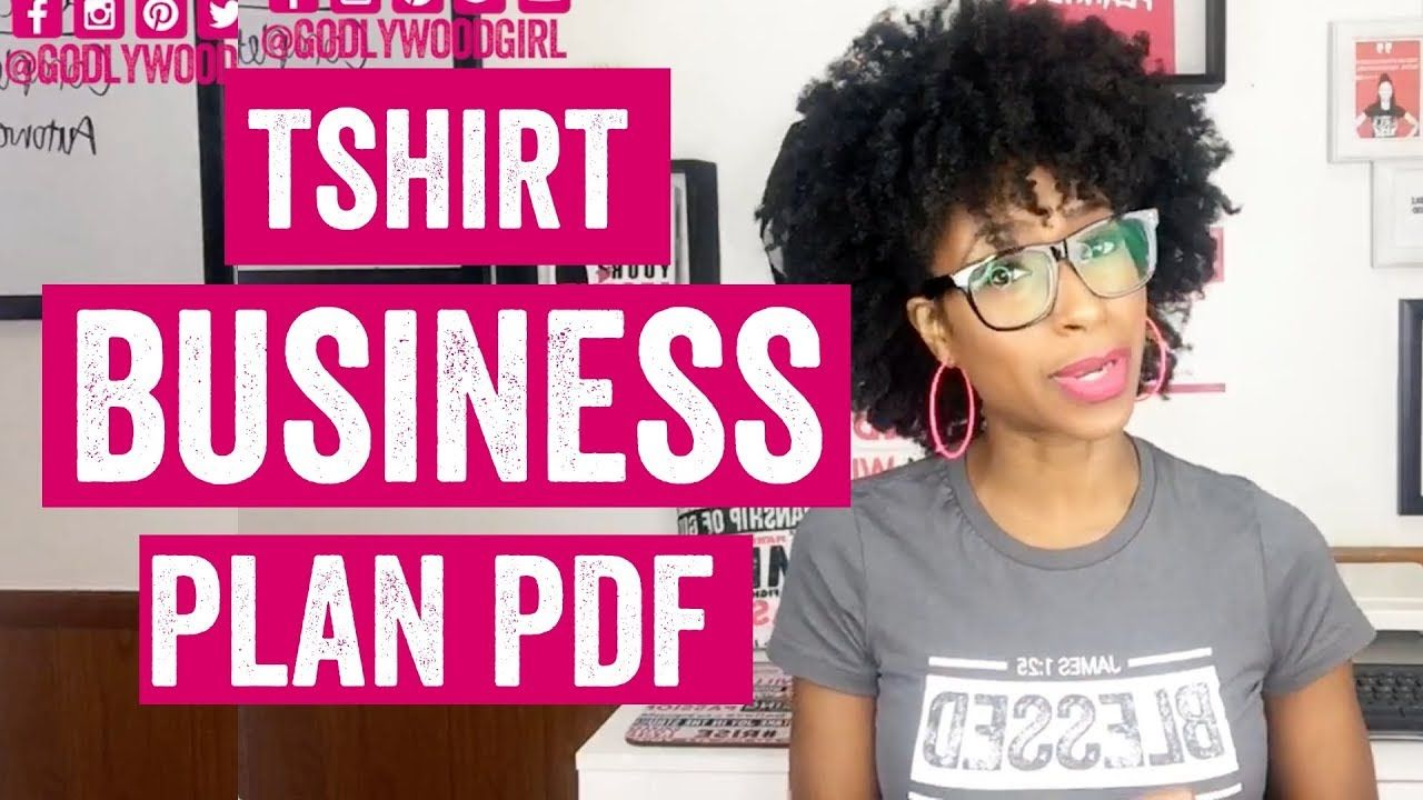 T Shirt Business Plan Pdf How To