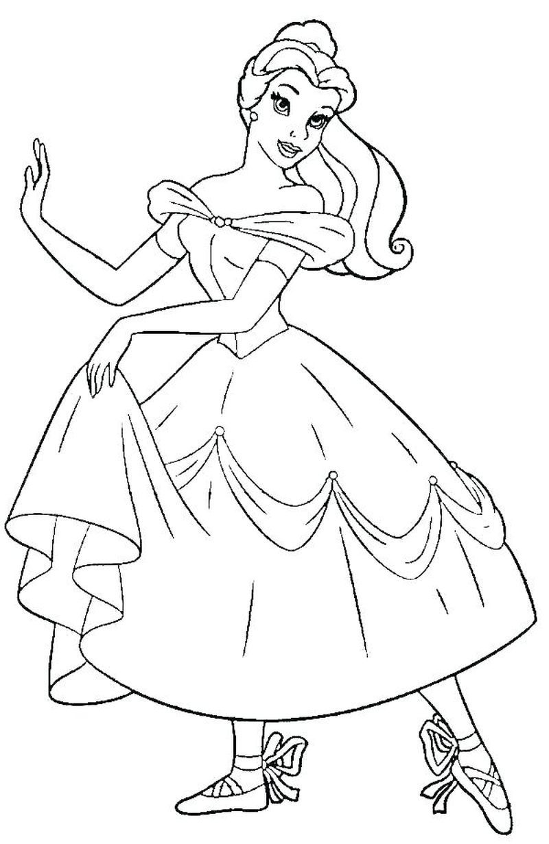 Cute Ballerina Coloring Pages Ideas Free Coloring Sheets Princess Coloring Pages Belle Coloring Pages Dance Coloring Pages [ 1231 x 800 Pixel ]