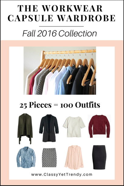 The Workwear Capsule Wardrobe: Fall 2016 Collection