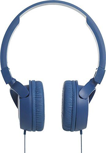 f1e092c7749 JBL T450 Pure Bass Sound with 1-Button Remote with Microphone On-Ear  Headphones Blue,#Bass, #Sound, #Pure, #JBL