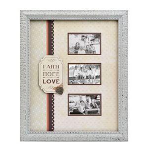 Vintage Faith Hope Love Collage Frame Diy Wall Decor Faith Hope