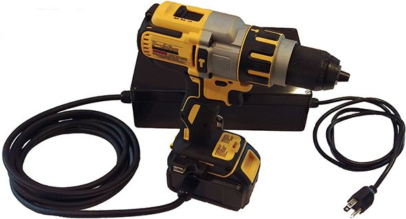 Los Gatos Dewalt 20v Max Corded Power Adapter With Drill Cordless Tools Cordless Power Tools Dewalt Tools