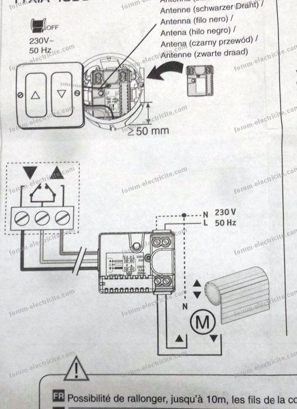 Forum Électricité - Conseils pour brancher un récepteur Tyxia 4630
