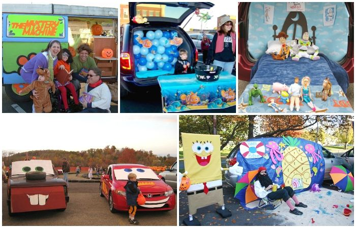 Super Simple Trunk-Or-Treat Ideas Candy land - halloween trunk or treat ideas