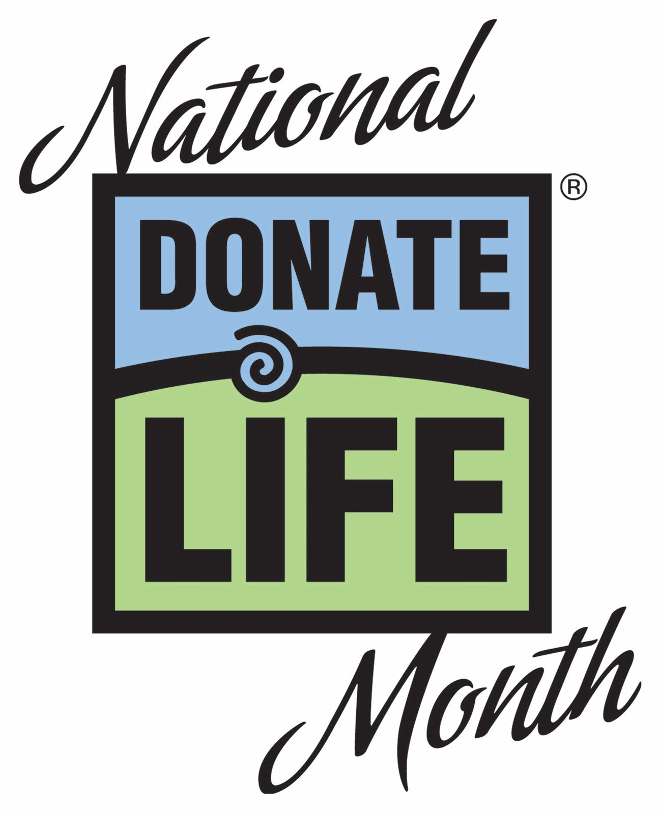 April is Organ Donation Awareness Month! #recycleyourparts #donateLIFE #beahero #save8