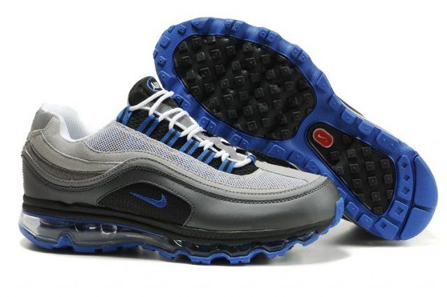 Air Max 24 7 Grey Blue Men Shoes | Running shoes for men