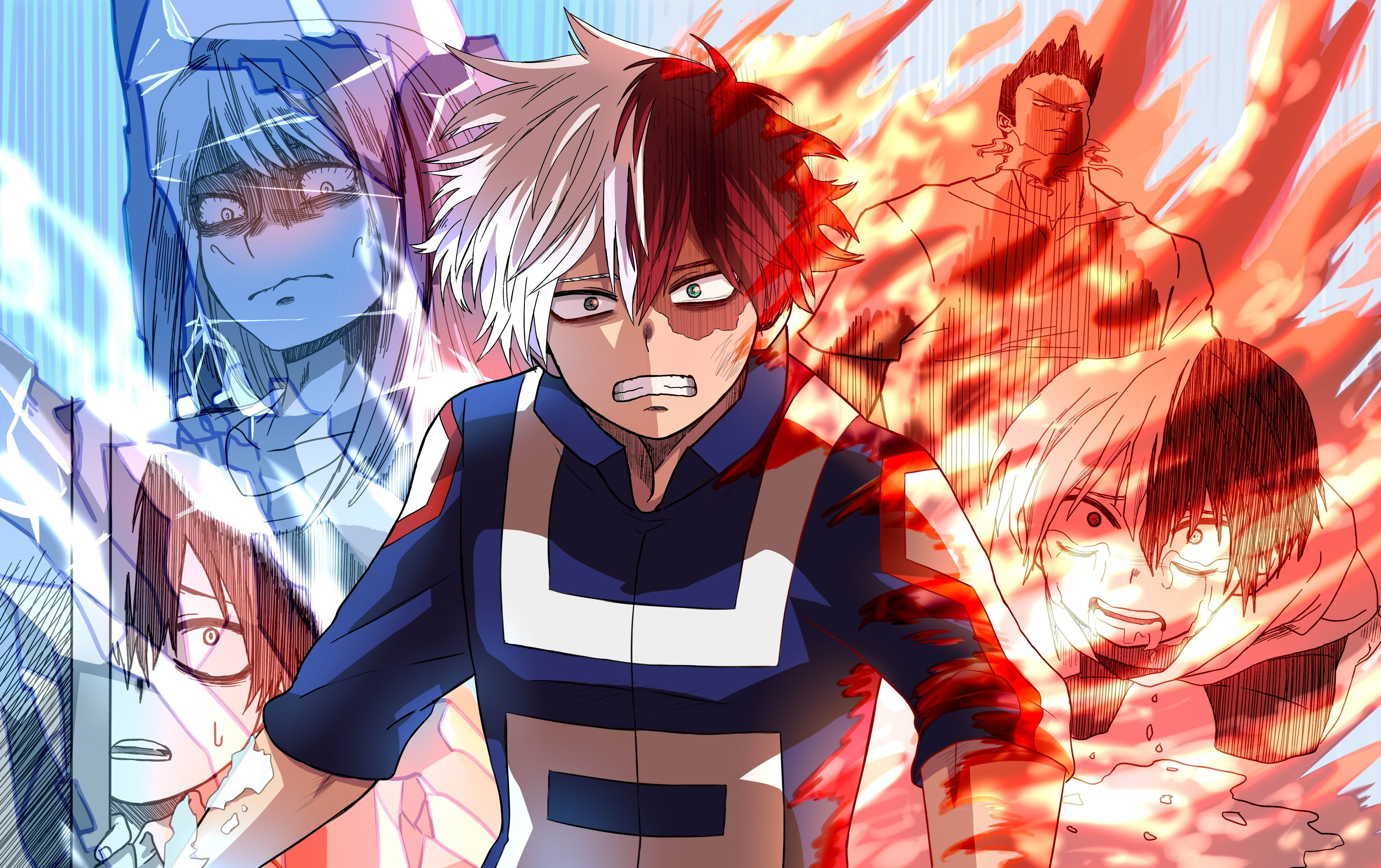 Anime My Hero Academia Shouto Todoroki Wallpaper My Hero Academia Shouto Me Me Me Anime My Hero Academia