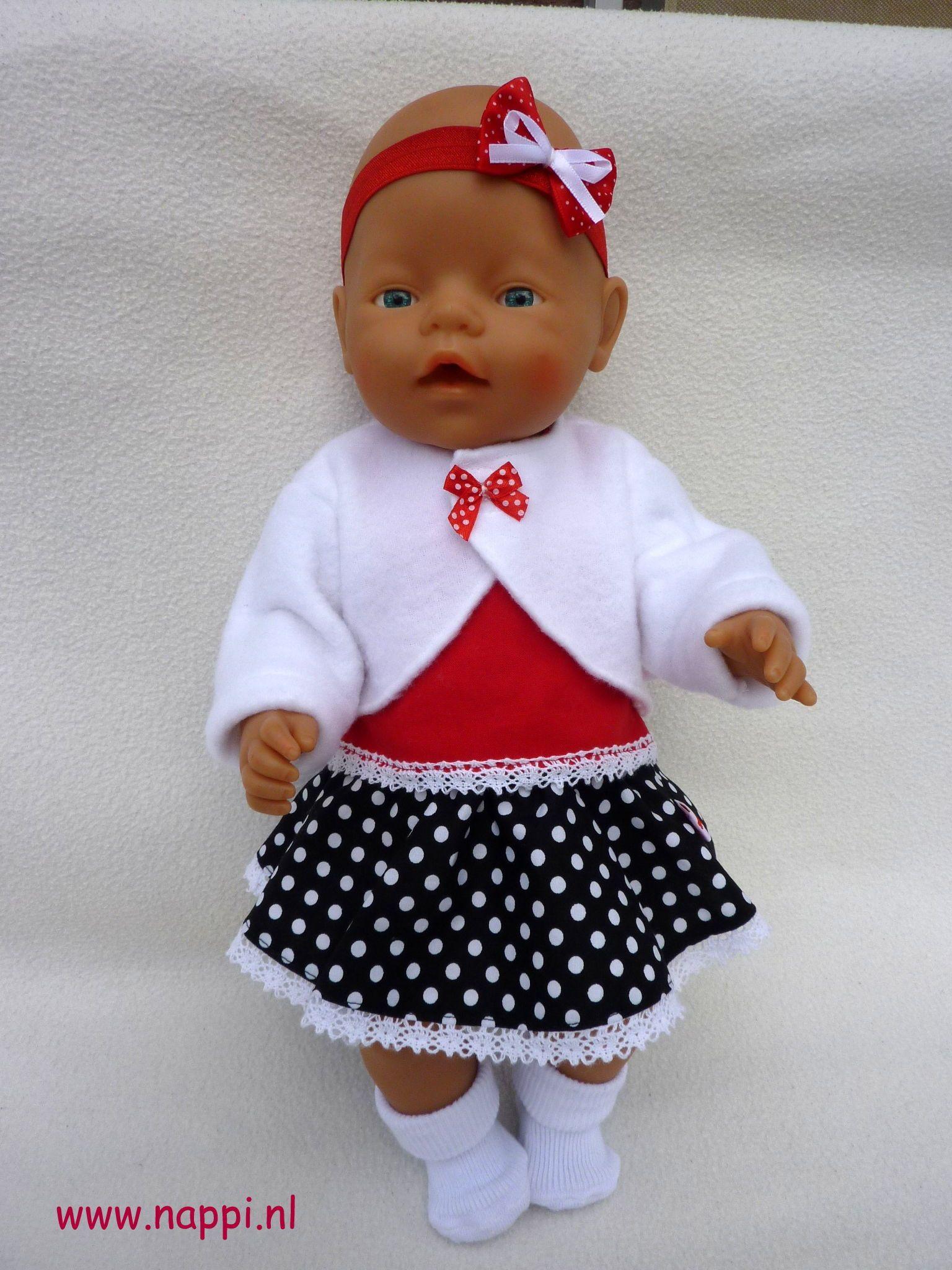 Zomerkleding / Baby Born 43 cm | Nappi.nl Eigen ontwerp | Panenky ...