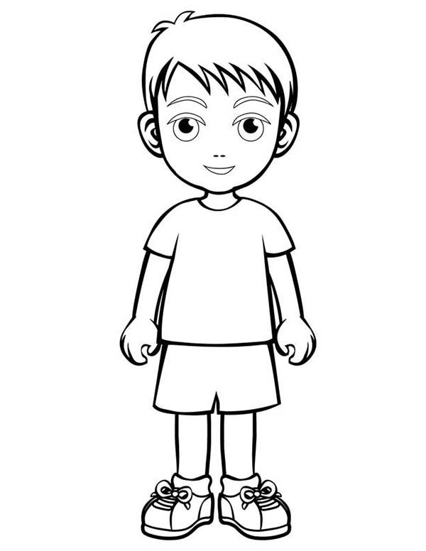 Boys Coloring Pages To Print