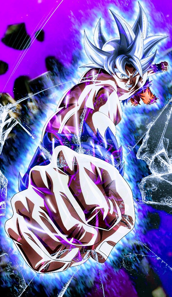 Goku Ultra Instinct Mastered Dragon Ball Super Dessin