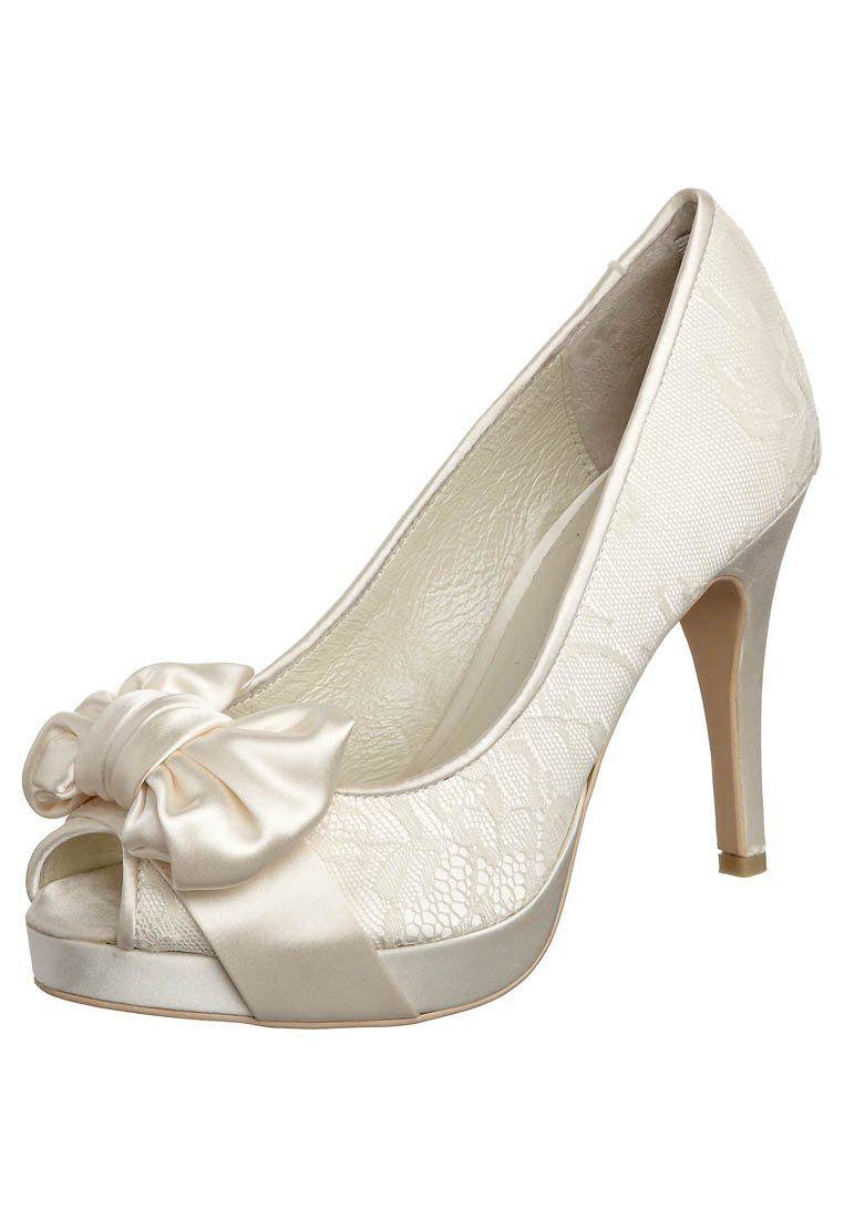 hauts Talons Wedding à Pinterest bout Shoes ouvert ivory a66ZxPn