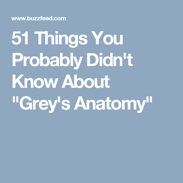 51 Things You Probably Didn\'t Know About \