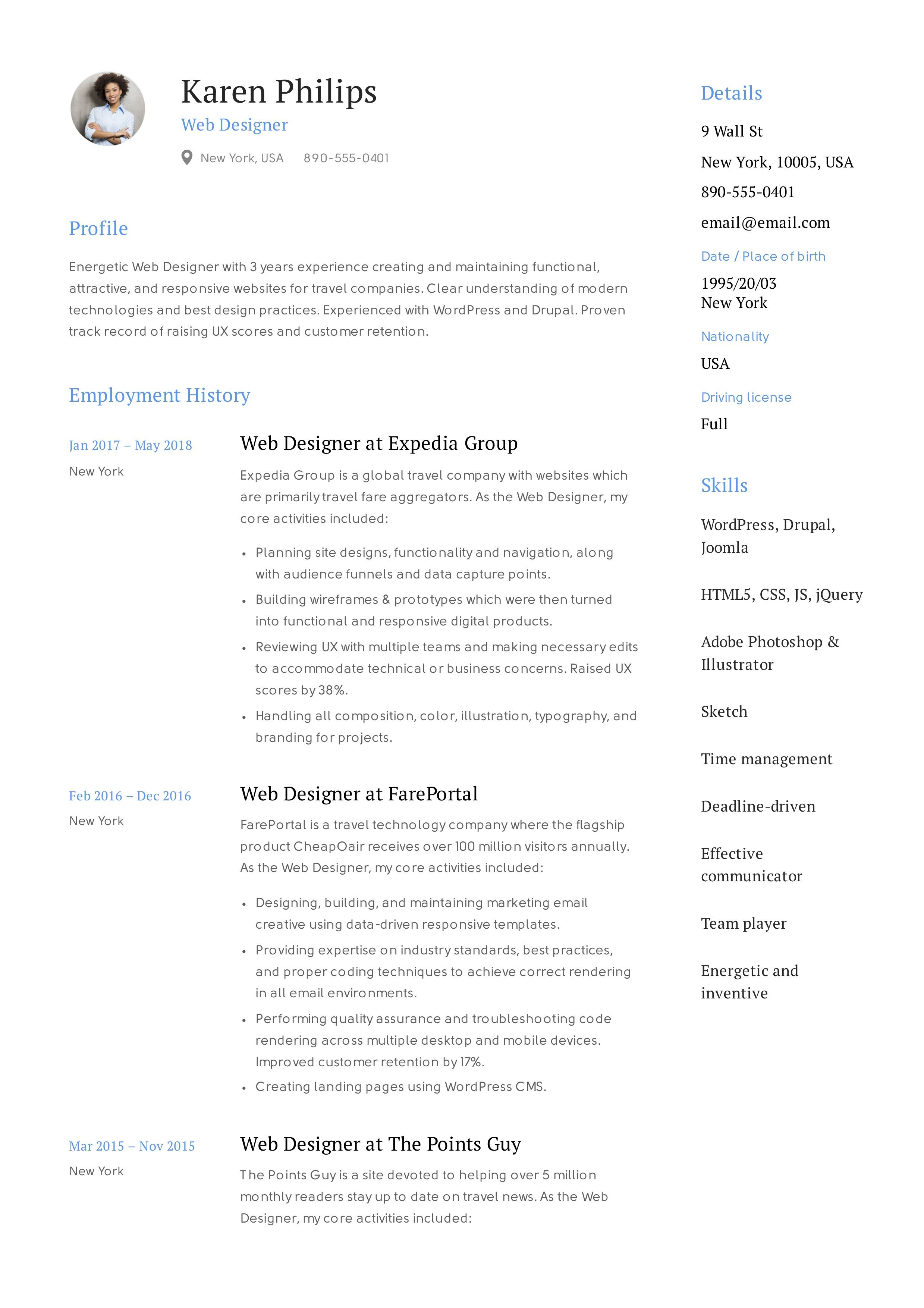 Great Resume Summary Statements Professional Examples Get