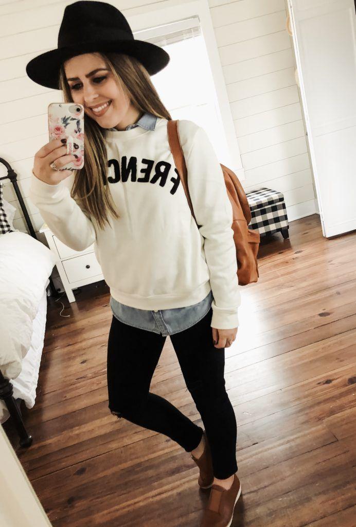 d83046808d9 12 ways to style a chambray shirt. - dress cori lynn