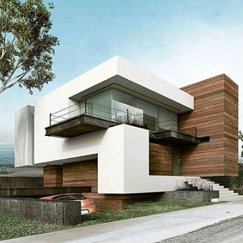 cool contemporary spin in 2019 modern architecture houseCool House Facades #5