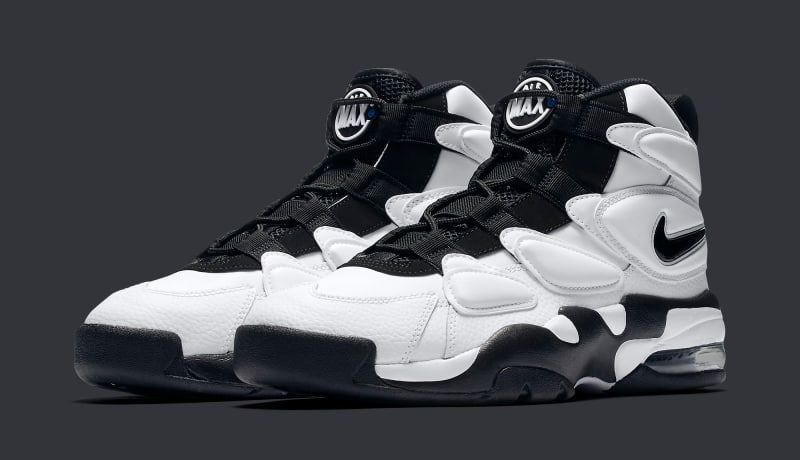 Black · Nike Air Max 2 Uptempo 94s in black and white releasing ...