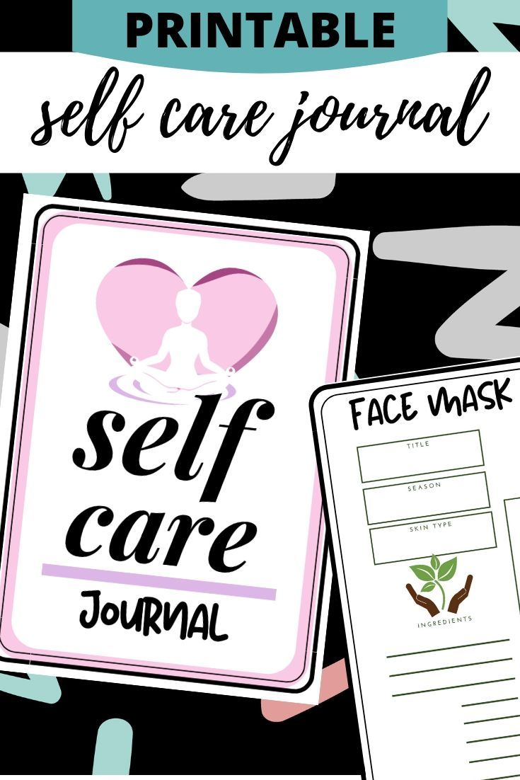 Self Care Journal How to Make a Self Care Journal (with
