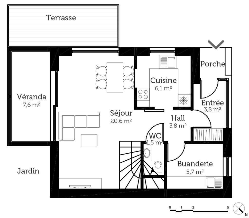 Plans De Maisons Les Rez De Chaussee Artisans Du Sud 7