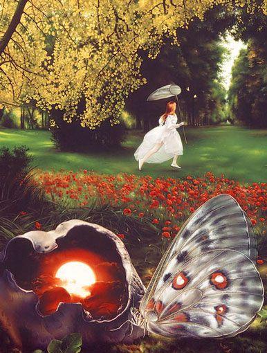 La Chasse Aux Papillons Paroles : chasse, papillons, paroles, Jean-Paul, AVISSE, Peintre,, MONTAUBAN