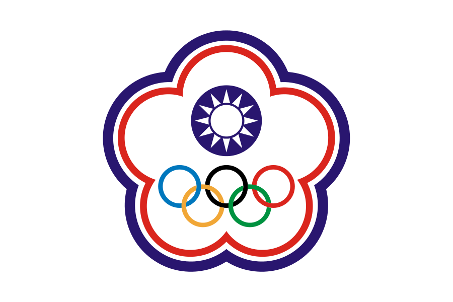Flag Of Chinese Taipei For Olympic Games 臺灣旗幟列表 維基百科 自由的百科全書 Copyright Free Country Flags Flag