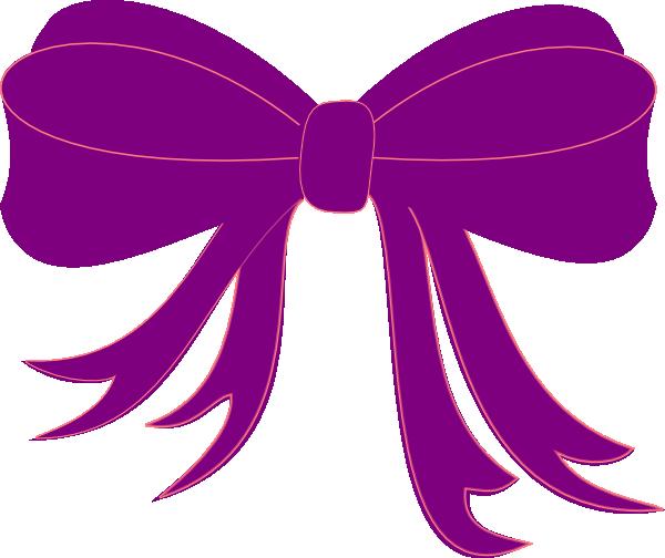 Purple Bow Clip Art Gift Ribbon Ribbon Png Ribbon Clipart
