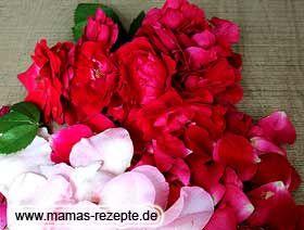Rezept Rosenblütensirup auf Mamas Rezepte Homepage