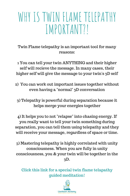 Of telepathy signs soulmate Telepathy Between