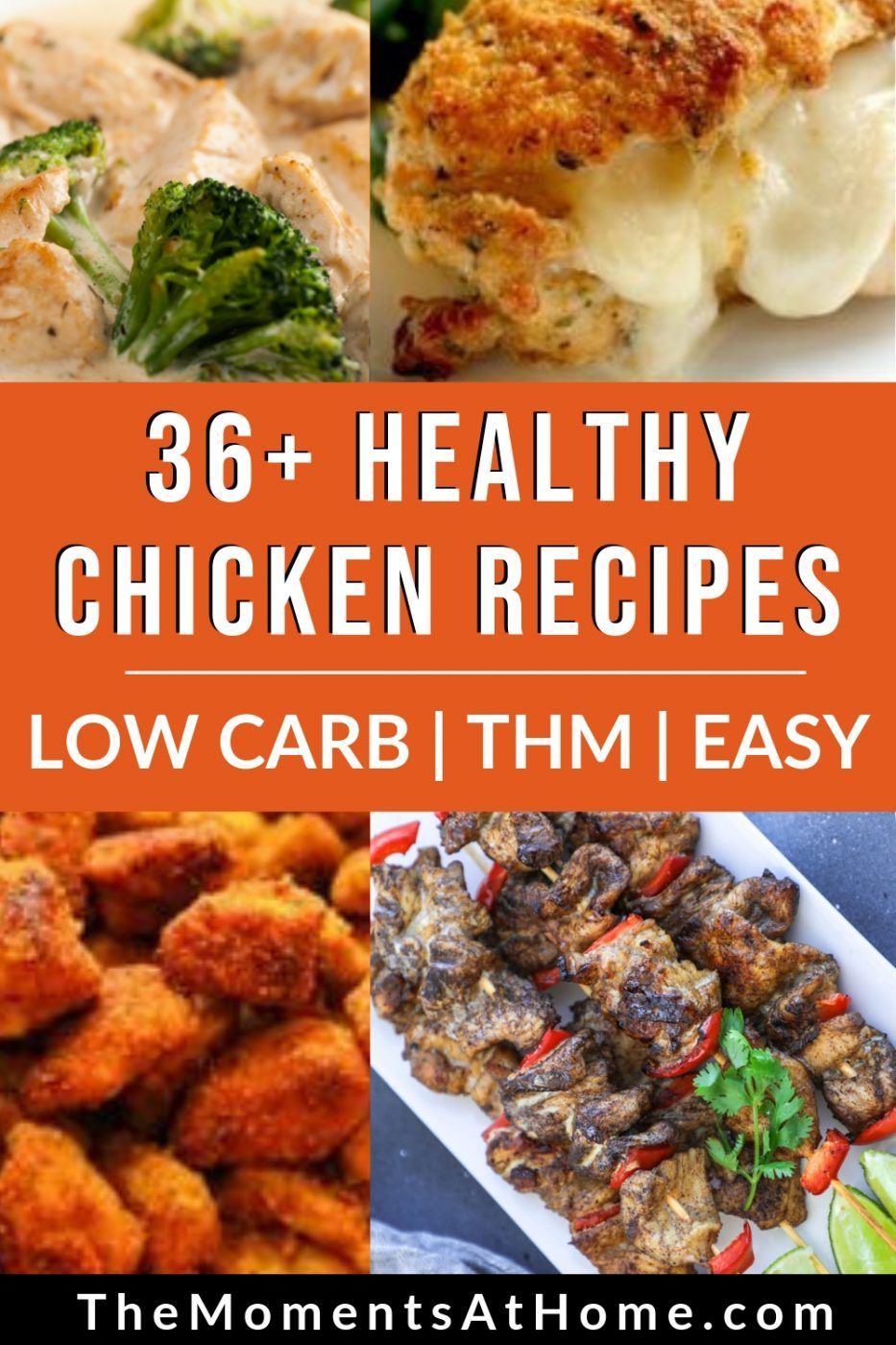 Healthy Chicken Dinner Recipes More Than 3 Dozen To Choose From With Images Healthy Chicken Recipes Healthy Chicken Dinner Dinner Recipes Healthy Low Carb
