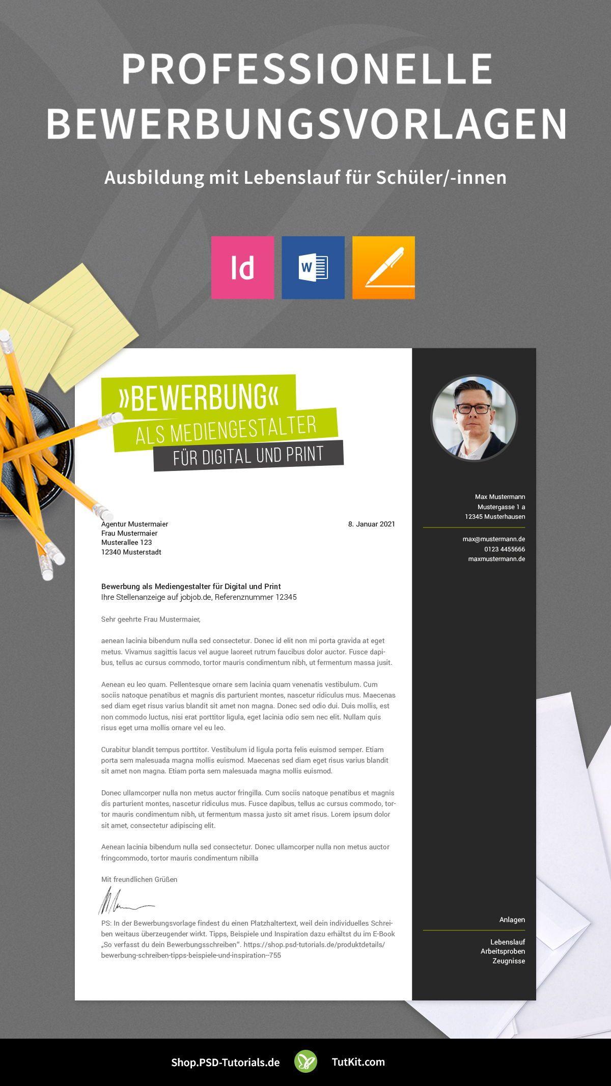 Bewerbung Mediengestalter In Kreatives Design Muster In 2020 Mediengestalter Kreatives Design Bewerbung Lebenslauf