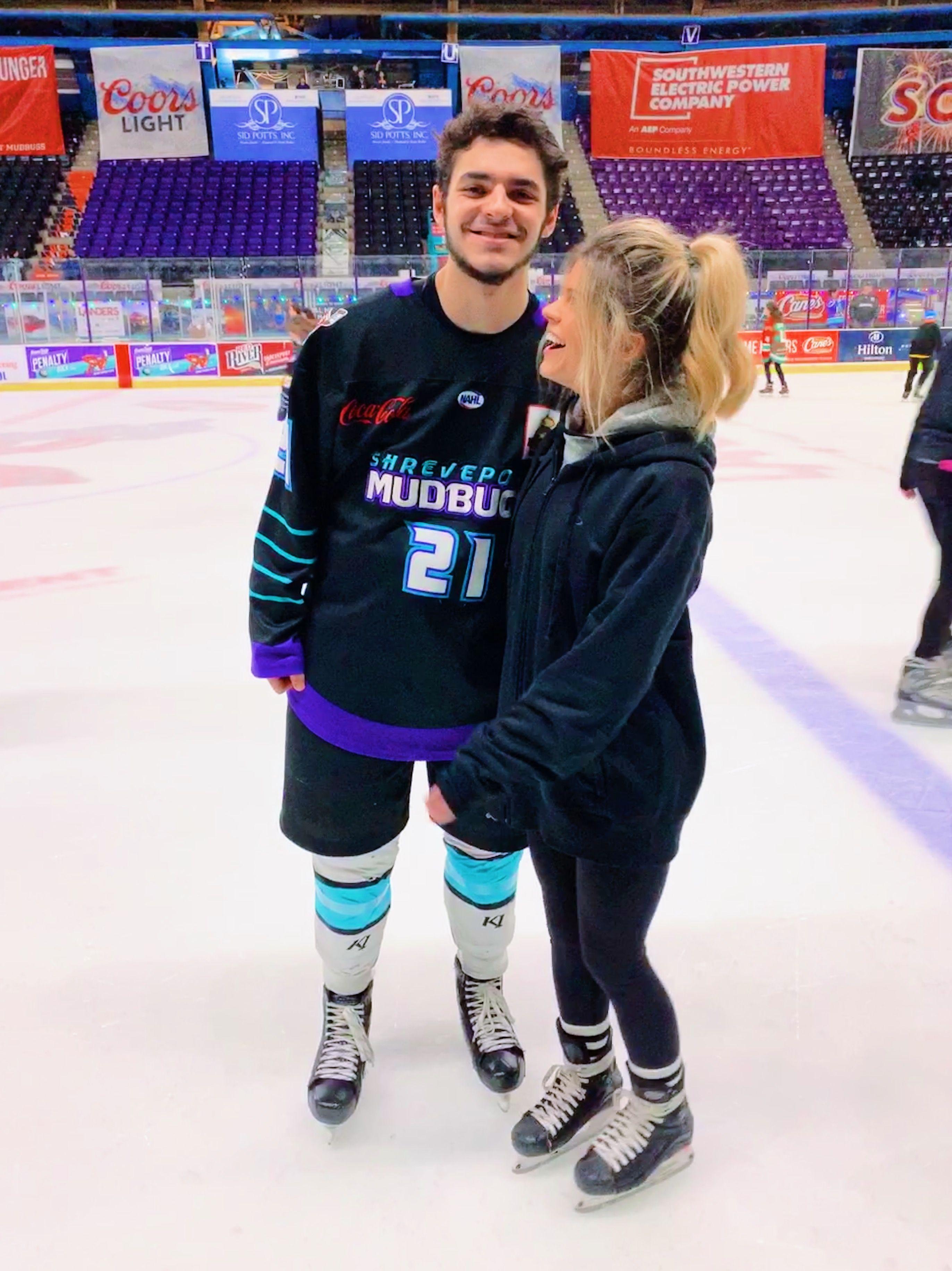 Hockey Boyfriend Boyfriend Couple Relationship Ice Skating Date Hockey Hockey Girlfriend Shreveport