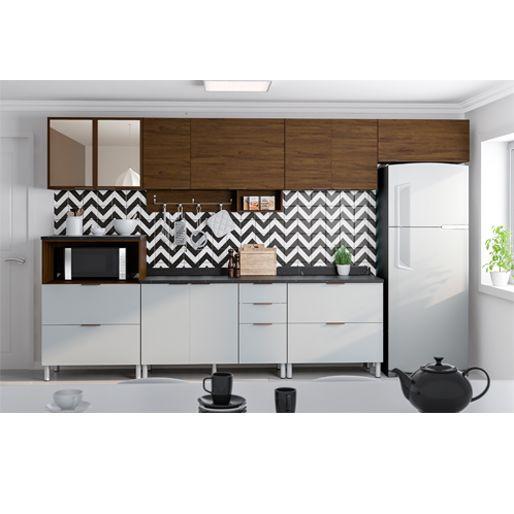 Cozinha Bartira Rubi Ex Izabel Com 9 Portas E 7 Gavetas Grapia