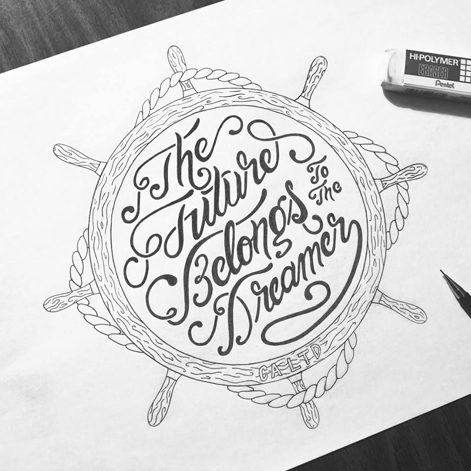 Typography Mania #240 | Abduzeedo Design Inspiration | Lettering | Typography | Design | Handmade | Pen | Pencil | Tipografia | Tipos | Types |  Badges | Pen | Pencil |