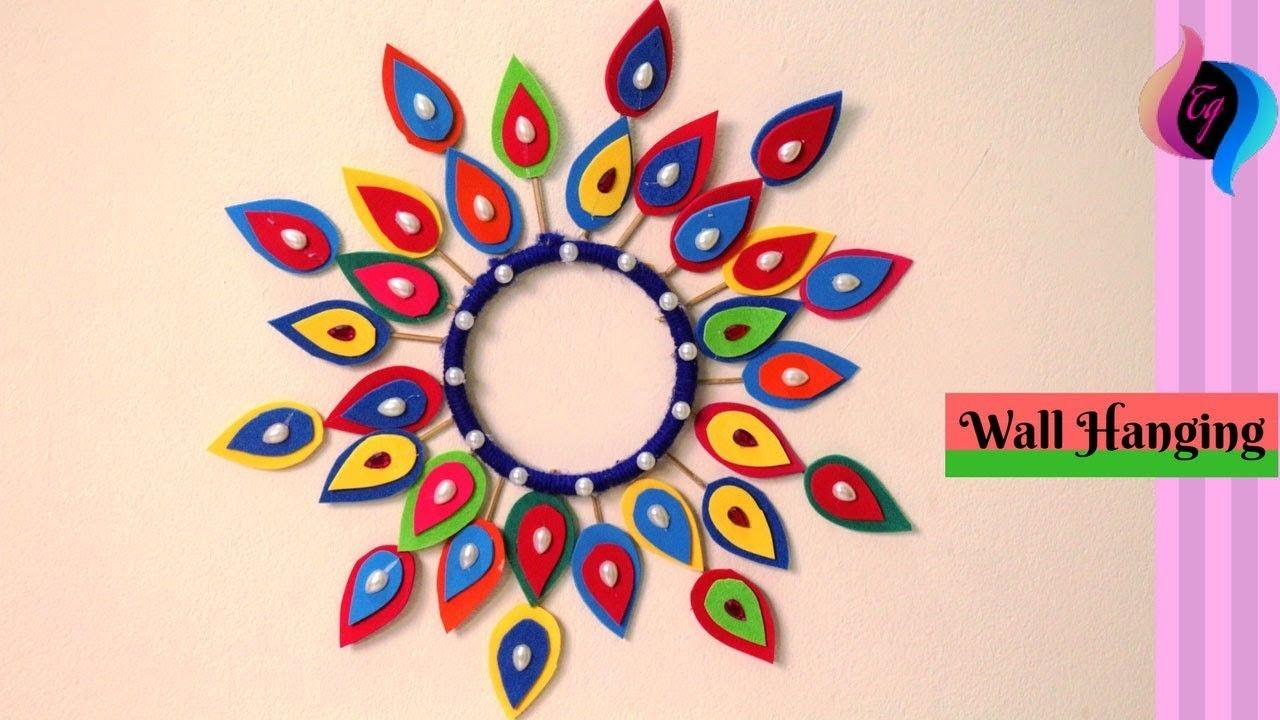 How To Make Wall Hanging Craft Ideas Wall Hanging Paper
