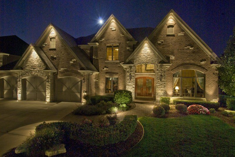 House Down Lighting Outdoor Accents Home