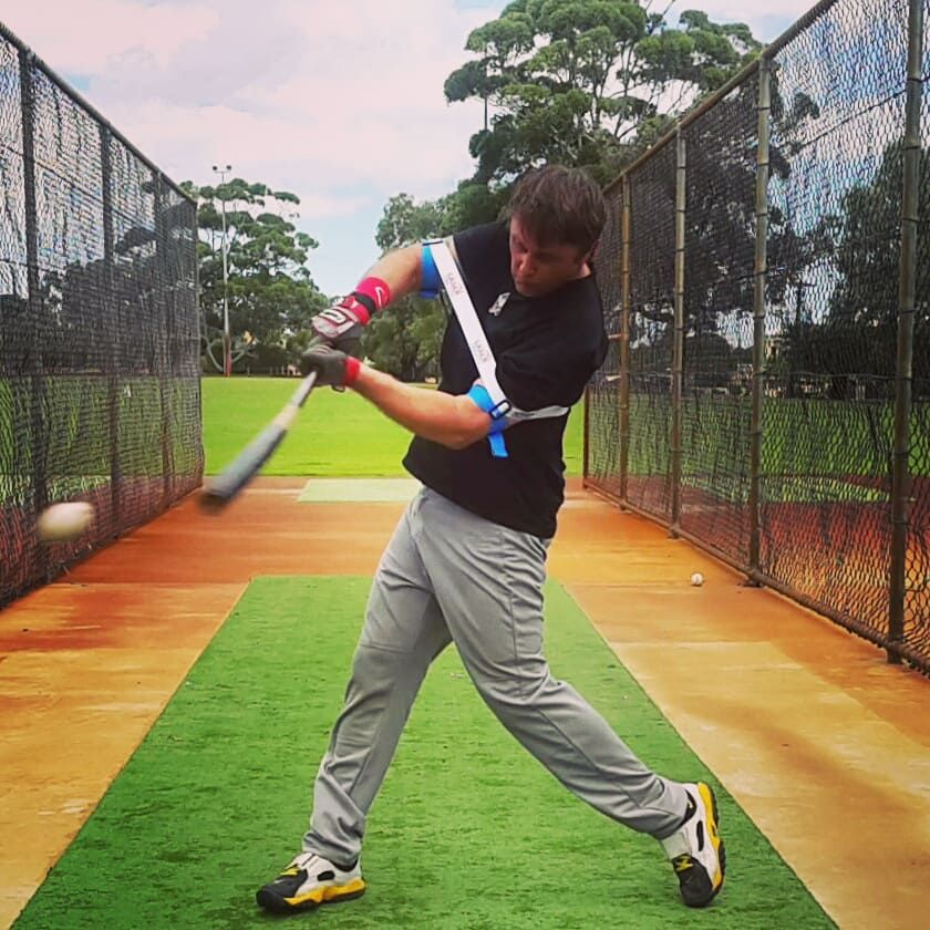 How To Fix A Long Baseball Swing Swing Trainer Baseball Swing Baseball Workouts