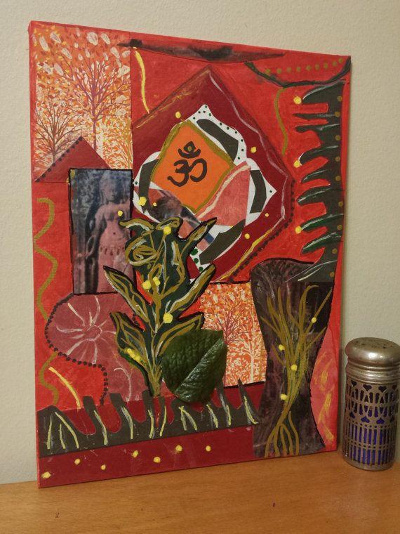 Root Chakra Art in my Etsy shop https://www.etsy.com/listing/254899975/root-chakra-painting-chakra-art-yoga