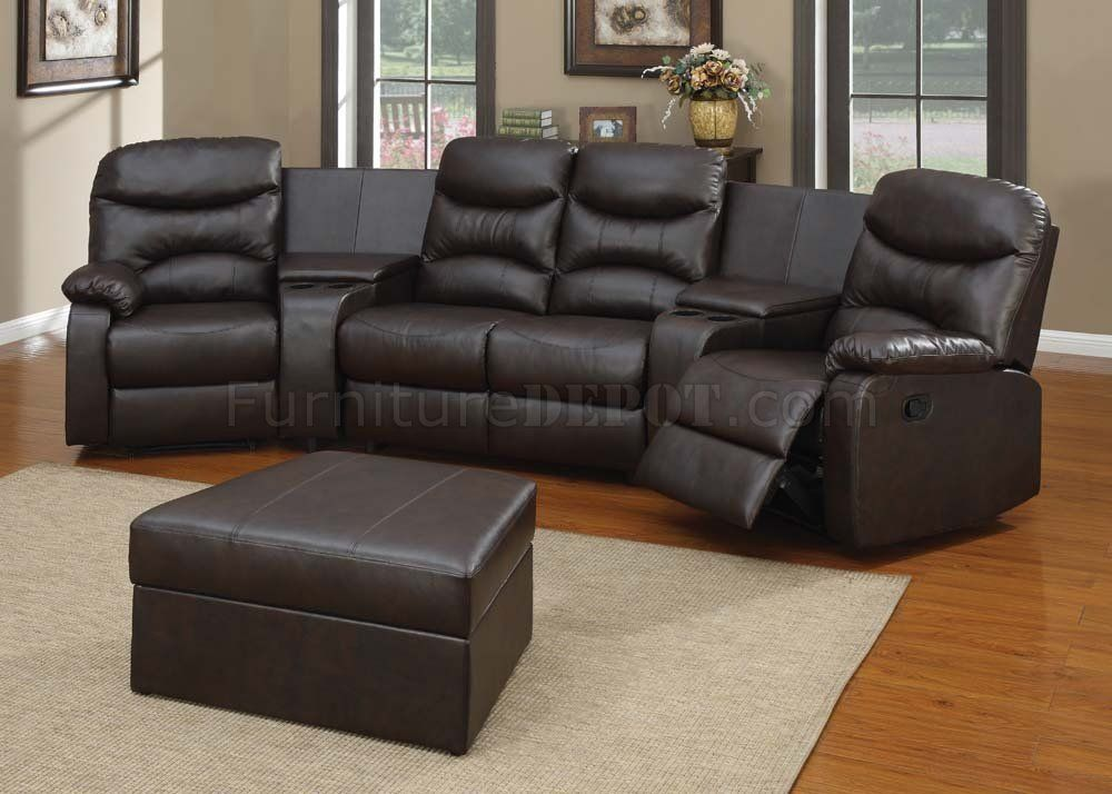 theater seating sectional sofa