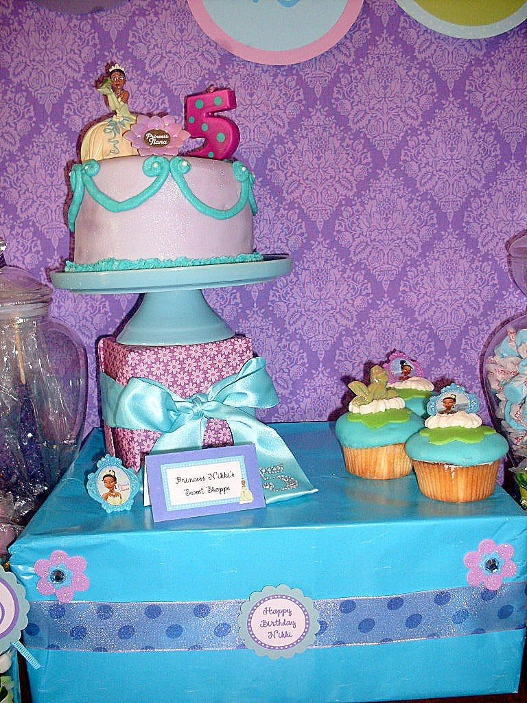Cupcake Wishes & Birthday Dreams: More Princess and The Frog Party ...
