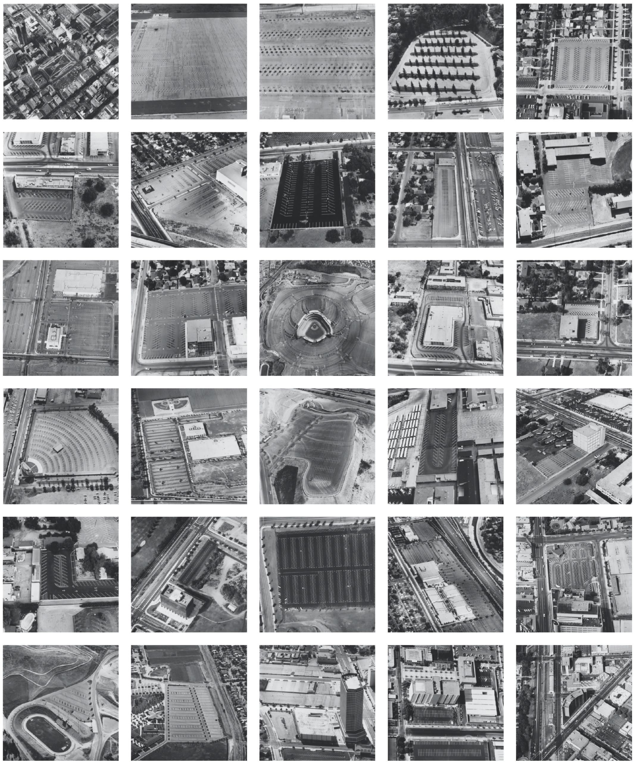 Thirtyfour Parking Lots In Los Angeles, 1967