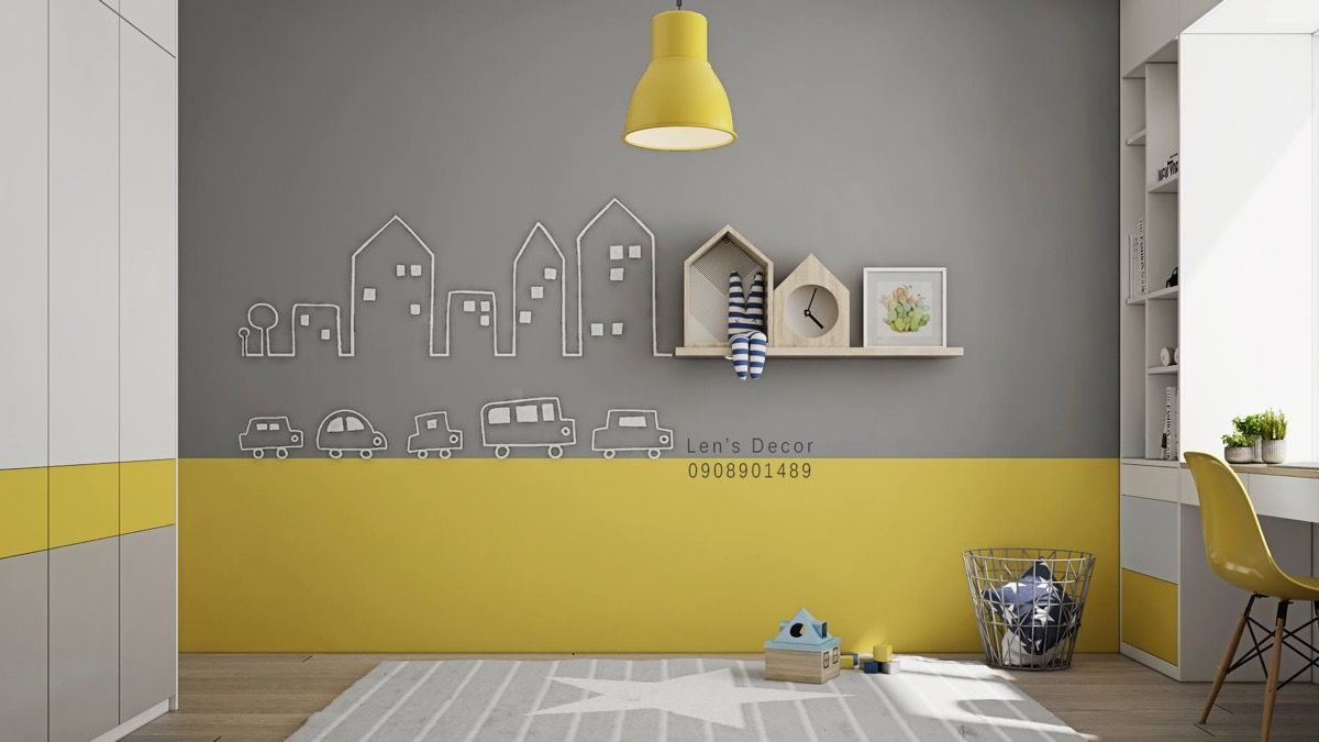 Yellow Kids Rooms How To Use Combine Bright Decor Yellow Kids Rooms Yellow Kids Bedroom Yellow Boys Bedroom