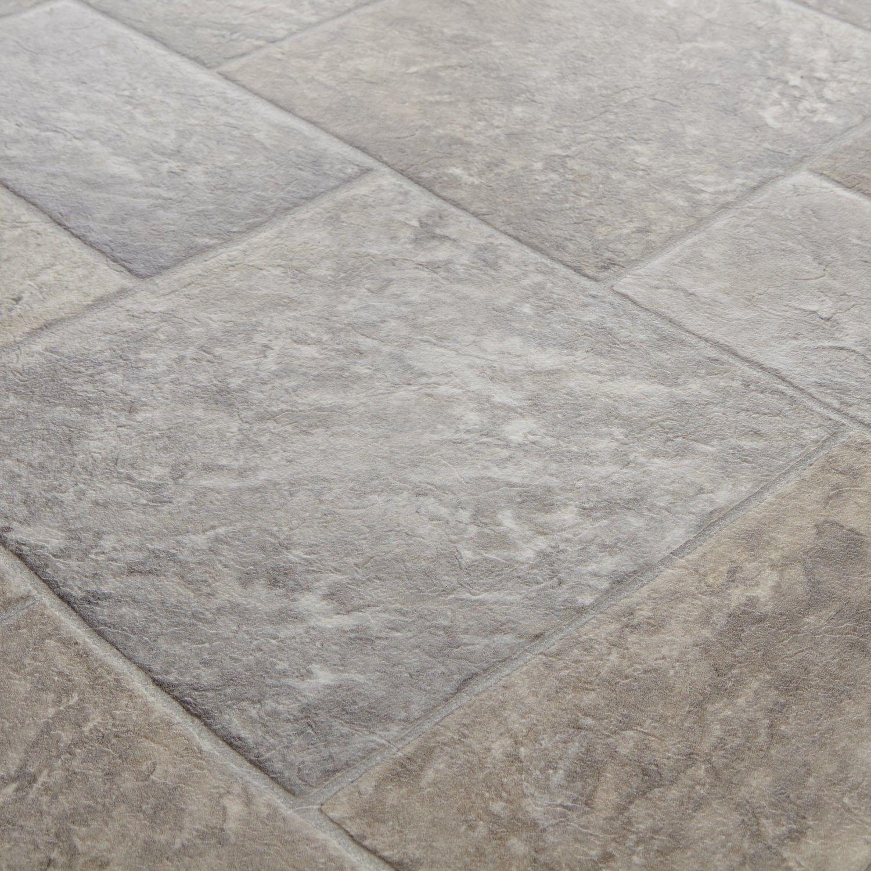 Clic Style 994 Venturi Stone Tile Vinyl Flooring