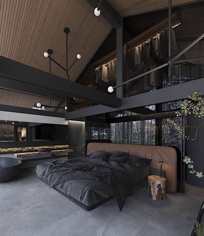 ☆ vsco + chynapmcghee ☆ in 17  Black rooms, House design